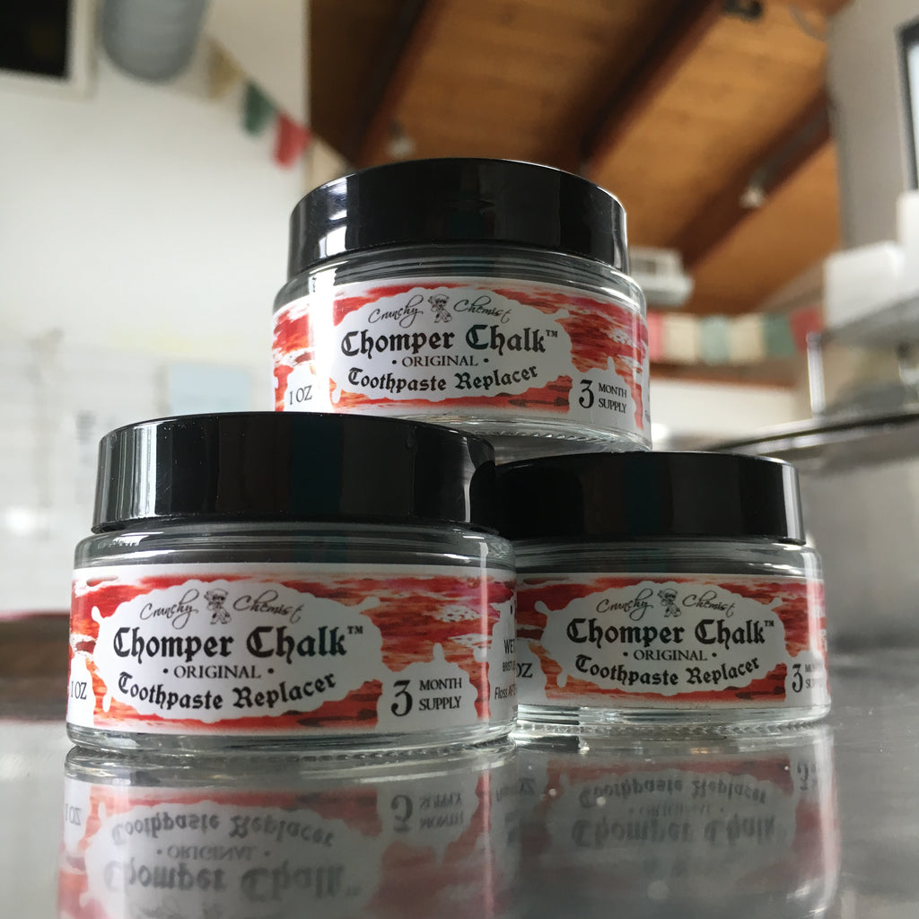 Chomper Chalk Tooth Powder 1 oz.