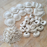 "Gluten-free Sourdough PASTA (Without a Machine) ""On Demand"" ONLINE WORKSHOP"