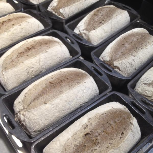 OJAI BREAD CLUB - (PICK-UP) 1 Quinoa EXTRA SOUR + 1 Buckwheat EXTRA SOUR Loaf ONCE a month for SIX months