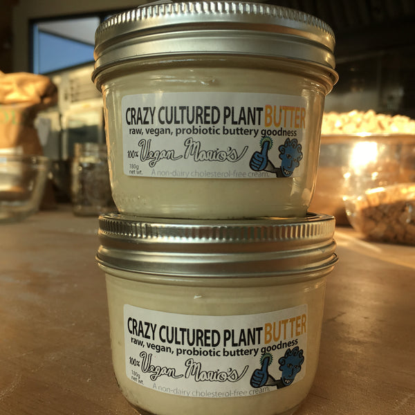 CraZy Cultured Plant Butter - Probiotic Creamy Goodness (2 JARS)
