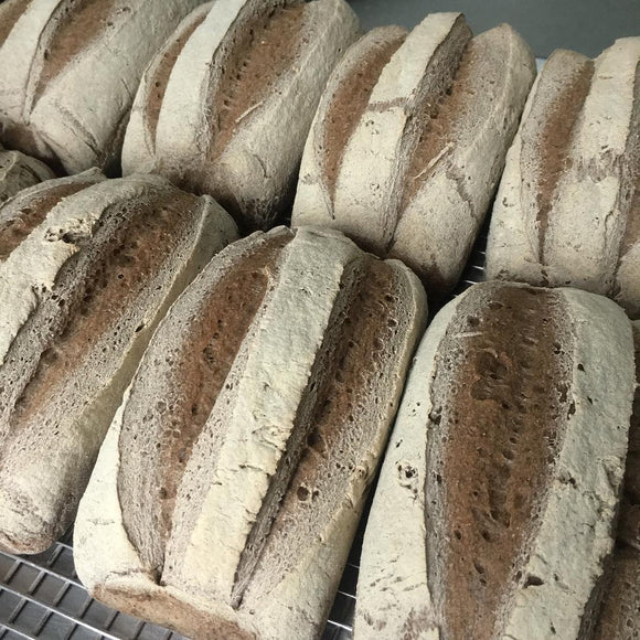 960g of BUCKWHEAT (Rye-less Rye) All-Purpose, Gluten-Free Sourdough Flour Blend