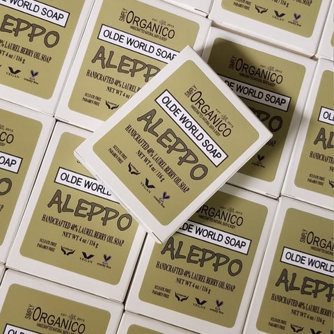 Aleppo Olde World Soap, Aleppo Soap, Syrian Soap, Laurel Berry Oil, Skin Care, Acne, Shampoo Bar, Earthy, Natural, Handmade, Handcrafted, Bay Leaf Oil, Old World