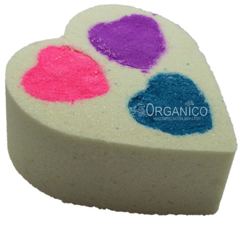 Be Mine Bath Bomb Creamer - Simply Organico Bath Bombs, Handmade Soaps, Sugar Scrubs, Skin Care