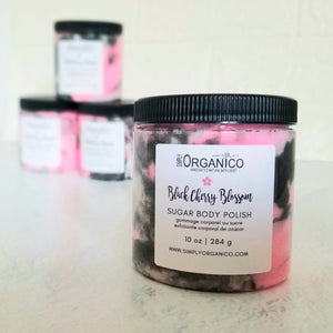 Black Cherry Blossom Sugar Body Polish