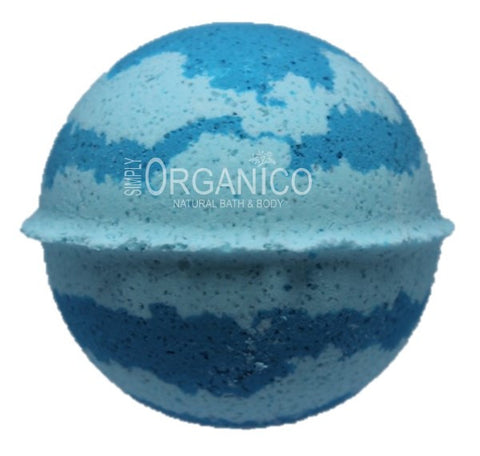 Blue Had Me At Hello Bath Bomb Creamer - Simply Organico Bath Bombs, Handmade Soaps, Sugar Scrubs, Skin Care