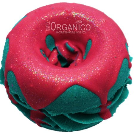 Blue Raspberry Bath Bomb Donut - Simply Organico