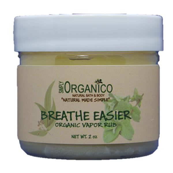 Breathe Easier Organic Vapor Rub - Simply Organico