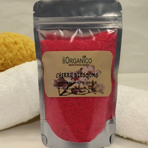 Simply Organico Cherry Blossoms Natural Luxury Mineral Bath Salts