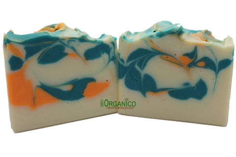 Coral Reef Handmade Soap - Simply Organico Bath Bombs, Handmade Soaps, Sugar Scrubs, Skin Care