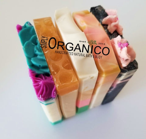 Fresh Florals Triple Butter Soap Sample Pack