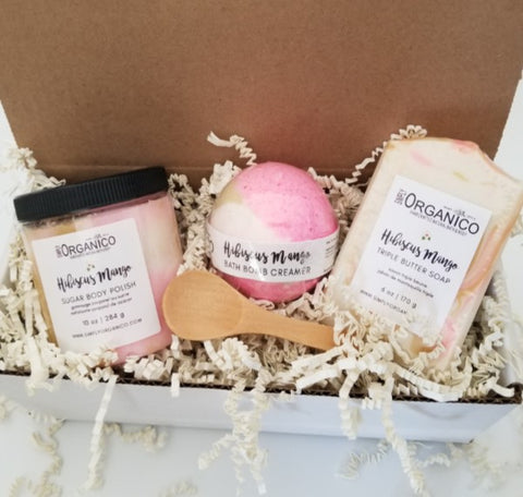 Hibiscus Mango Spa Gift Set