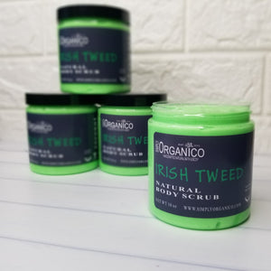 Irish Tweed Natural Body Scrub