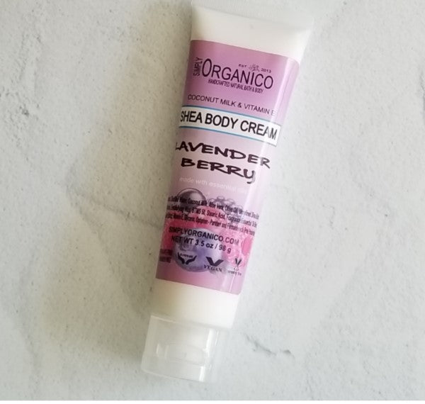 Lavender Berry Shea Body Cream