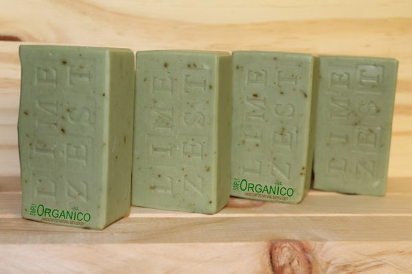 Lime Zest Soap - Simply Organico
