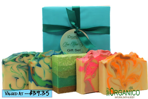 Love Your Skin Soap Set - Simply Organico