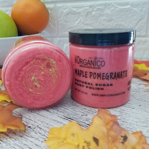 Maple Pomegranate Sugar Body Polish