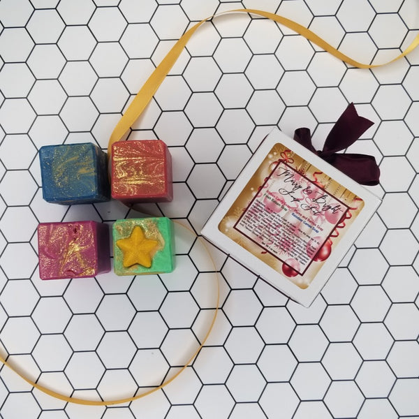 Merry and Bright Handmade Soap Set