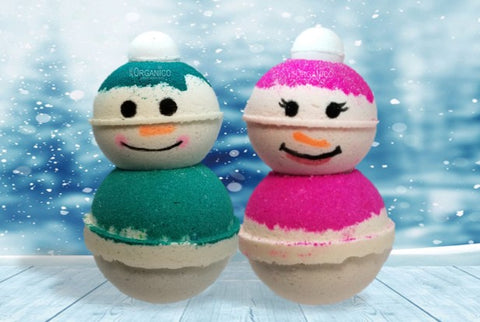 Mr Frost and Lady Frost Bath Bomb Creamer Set