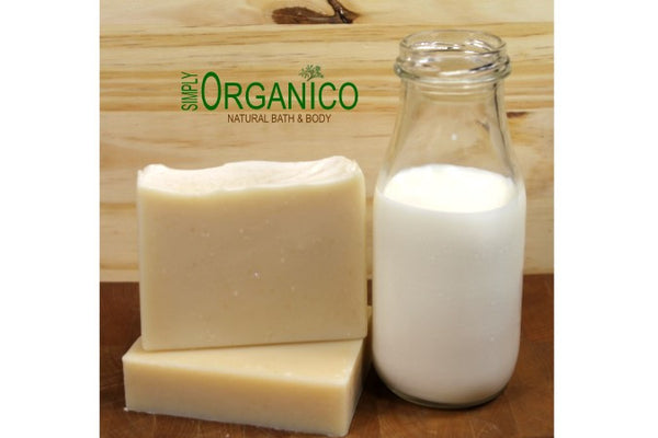 Simply Plain Organic Unscented Goat Milk Soap - Simply Organico