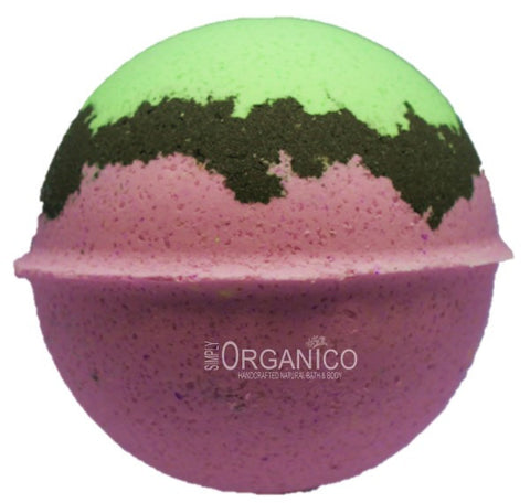 Passionflower and Acai Bath Bomb Creamer - Simply Organico