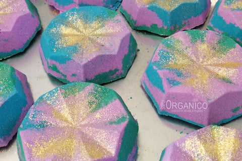 Poolside Bath Bomb Creamer - Simply Organico Bath Bombs, Handmade Soaps, Sugar Scrubs, Skin Care