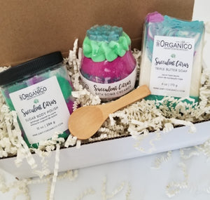 Succulent Citrus Spa Gift Set