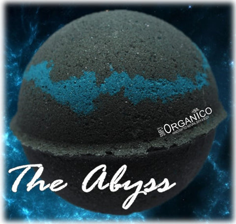 The Abyss Black Bath Bomb Creamer