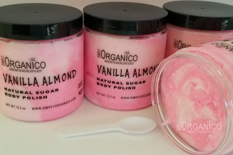 Vanilla Almond Sugar Body Polish