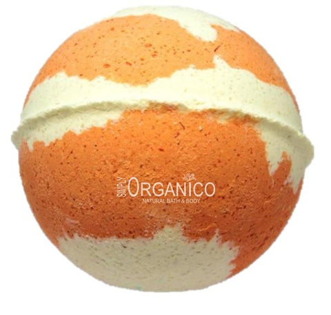 White Tea and Peach Ginger Bath Bomb Creamer - Simply Organico