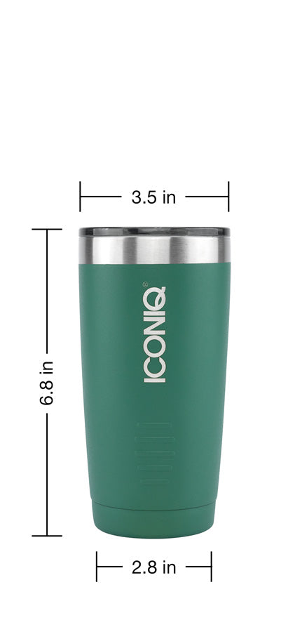 20oz Stainless steel tumbler dimensions