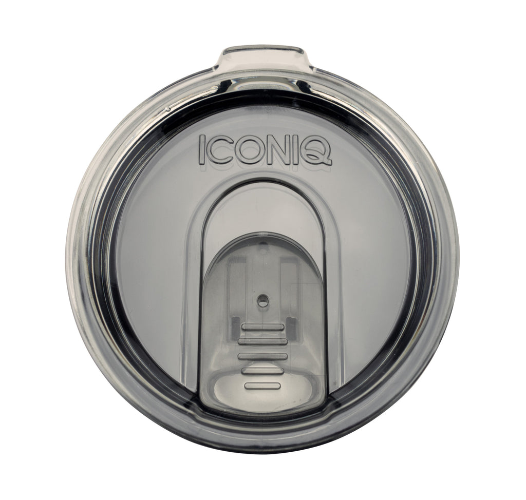 20oz Iconiq Retractable Tumbler Lid - Smoke Grey