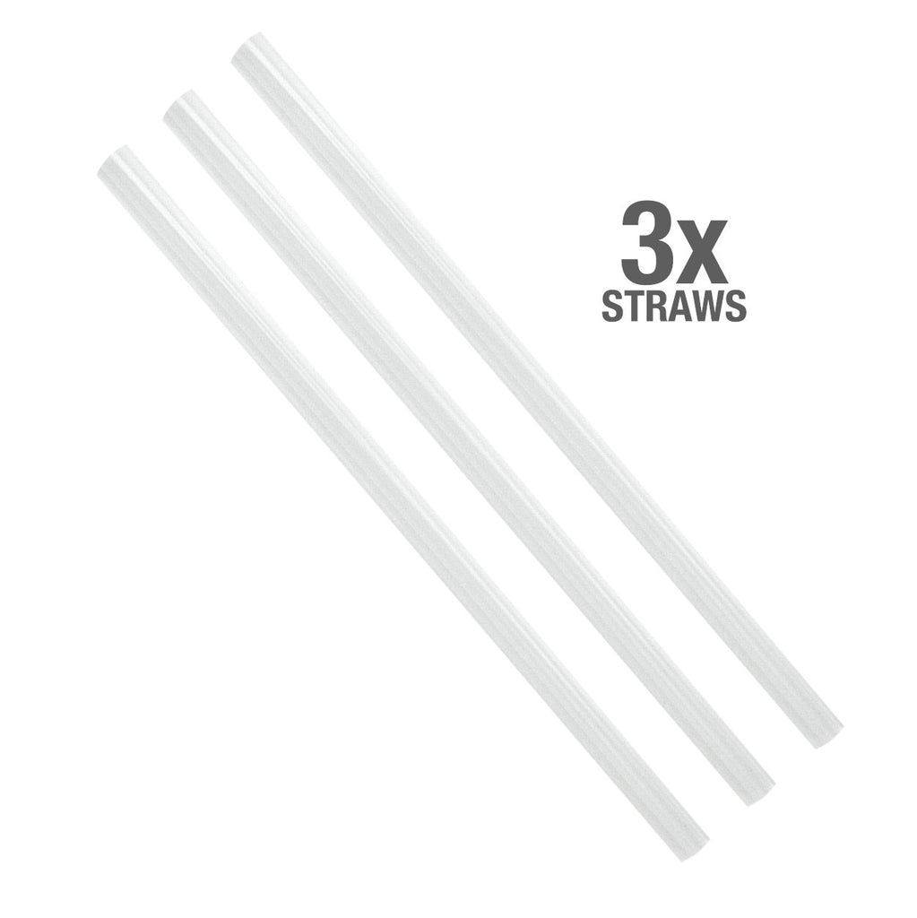 Pop-up Straw Cap for 17oz Water Bottles - Black
