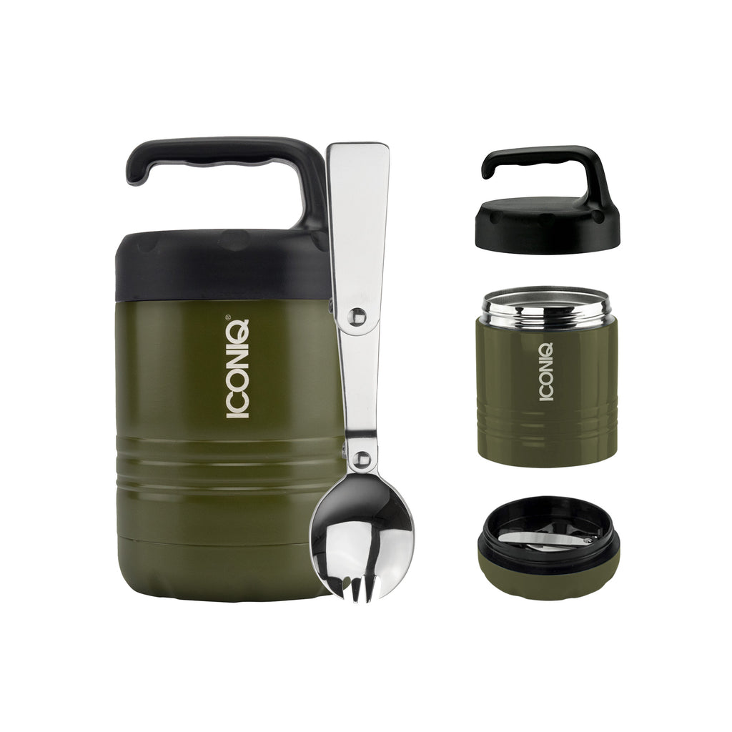 Qore Mini Insulated Food Container - Foliage Green