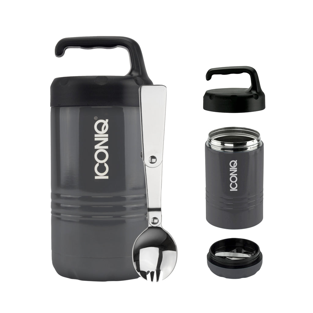 Qore Standard Insulated Food Container - Graphite