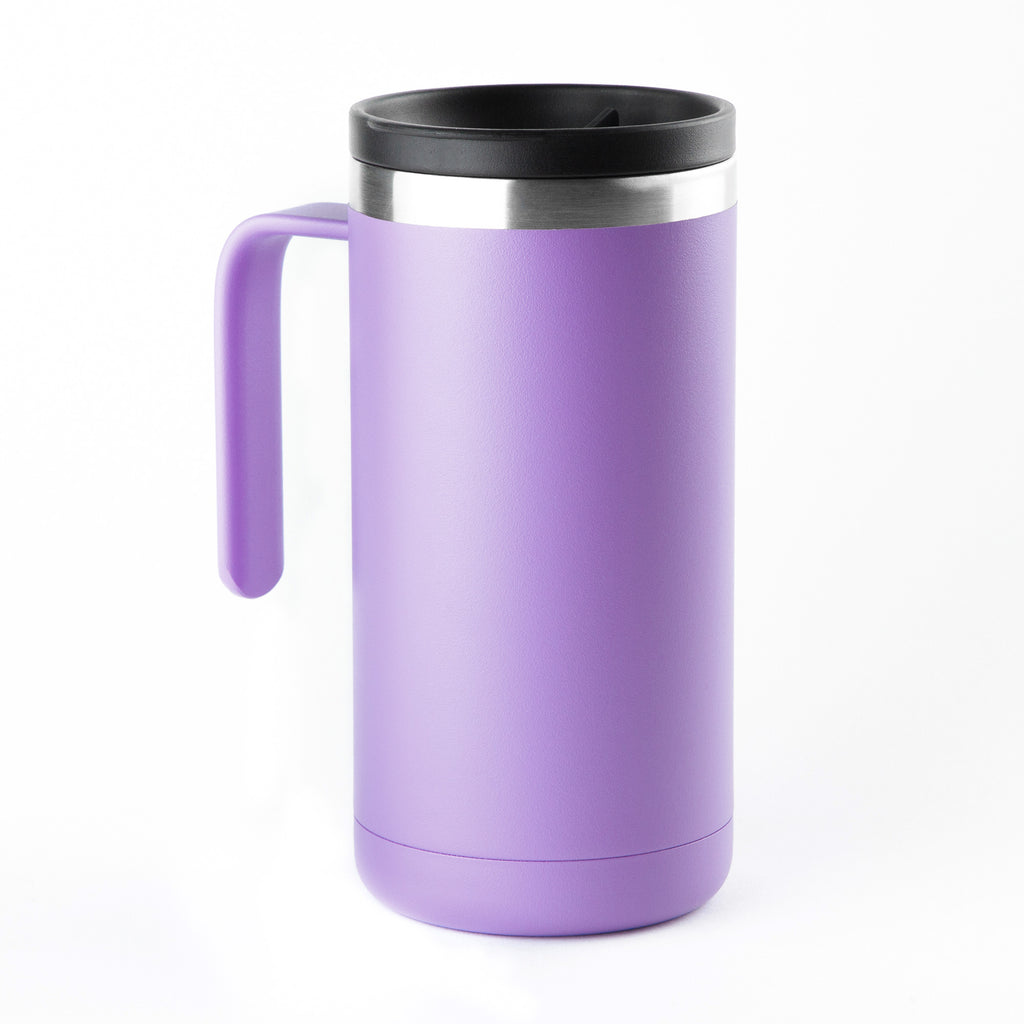 20oz Cafe Mug with Lid - Violet