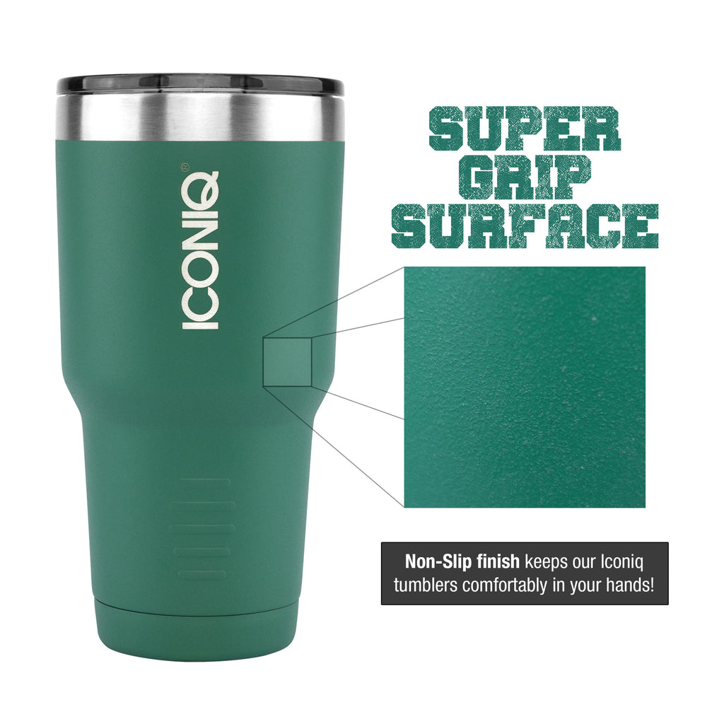 ICONIQ Green Super-grip surface finish