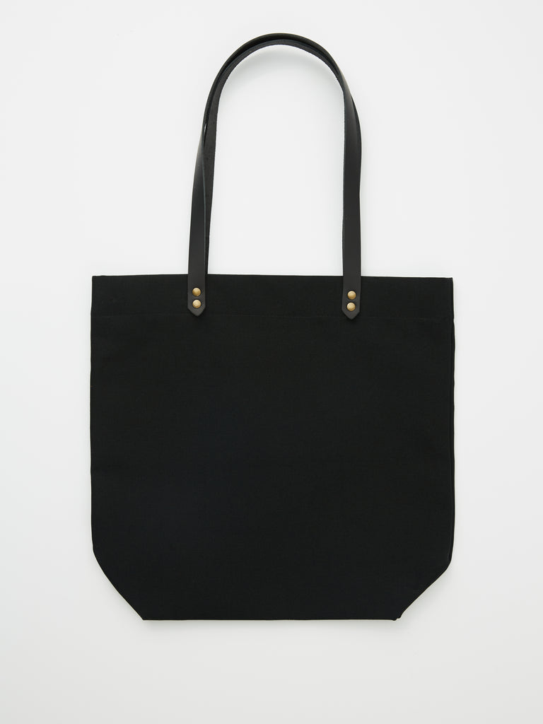 TOTE BAG denim or black cotton | Dahls""