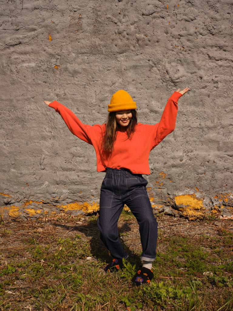 FLAMANT orange sweatshirt