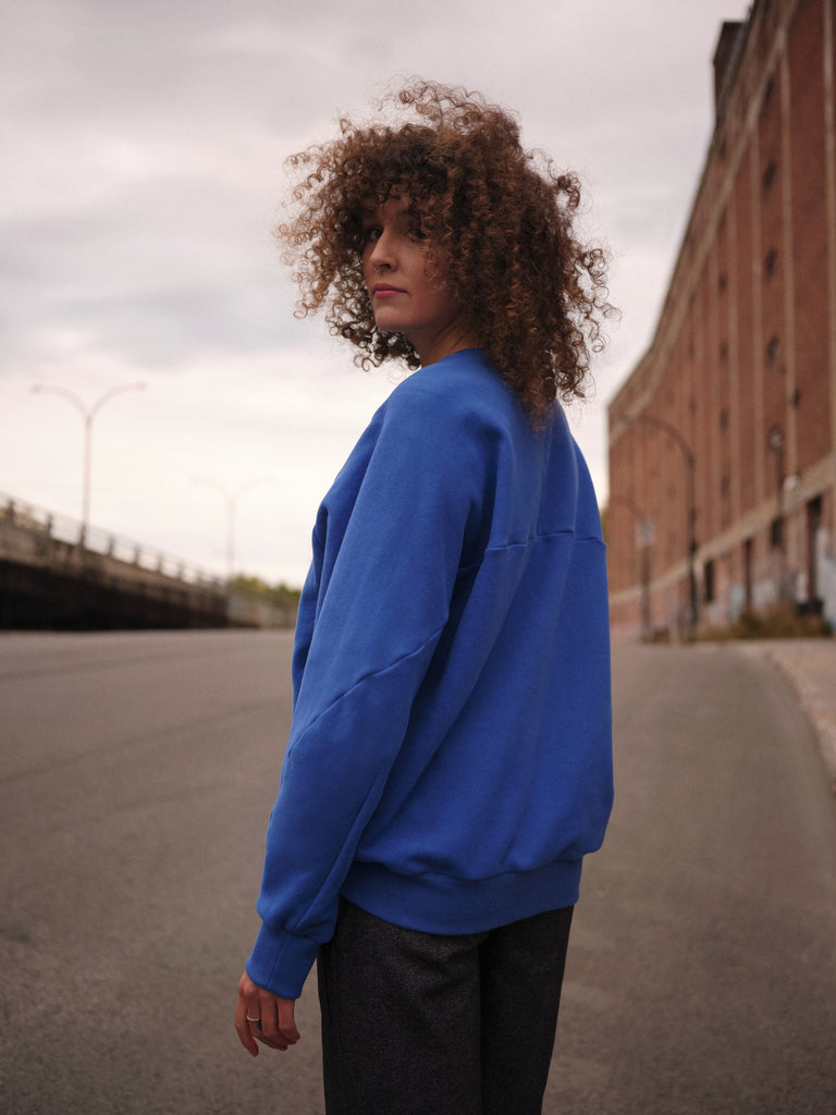 GEMA blue sweatshirt