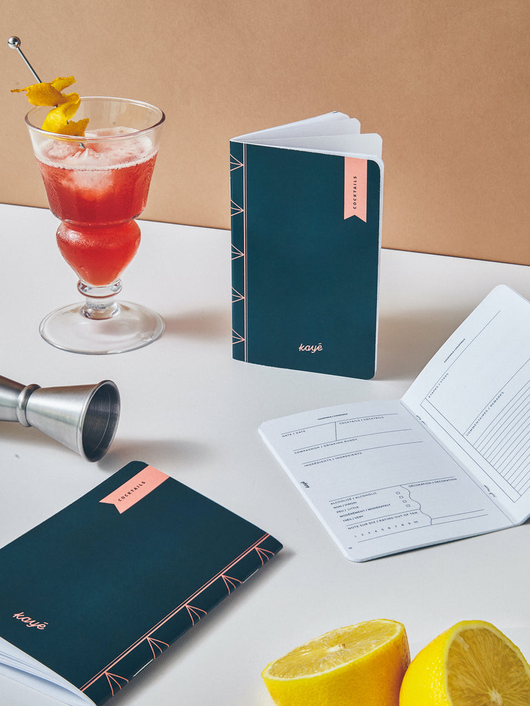 COCKTAILS Notebook | Kayé Notebooks