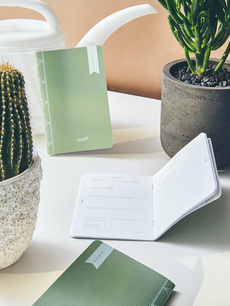 PLANTS Notebook | Kayé Notebooks
