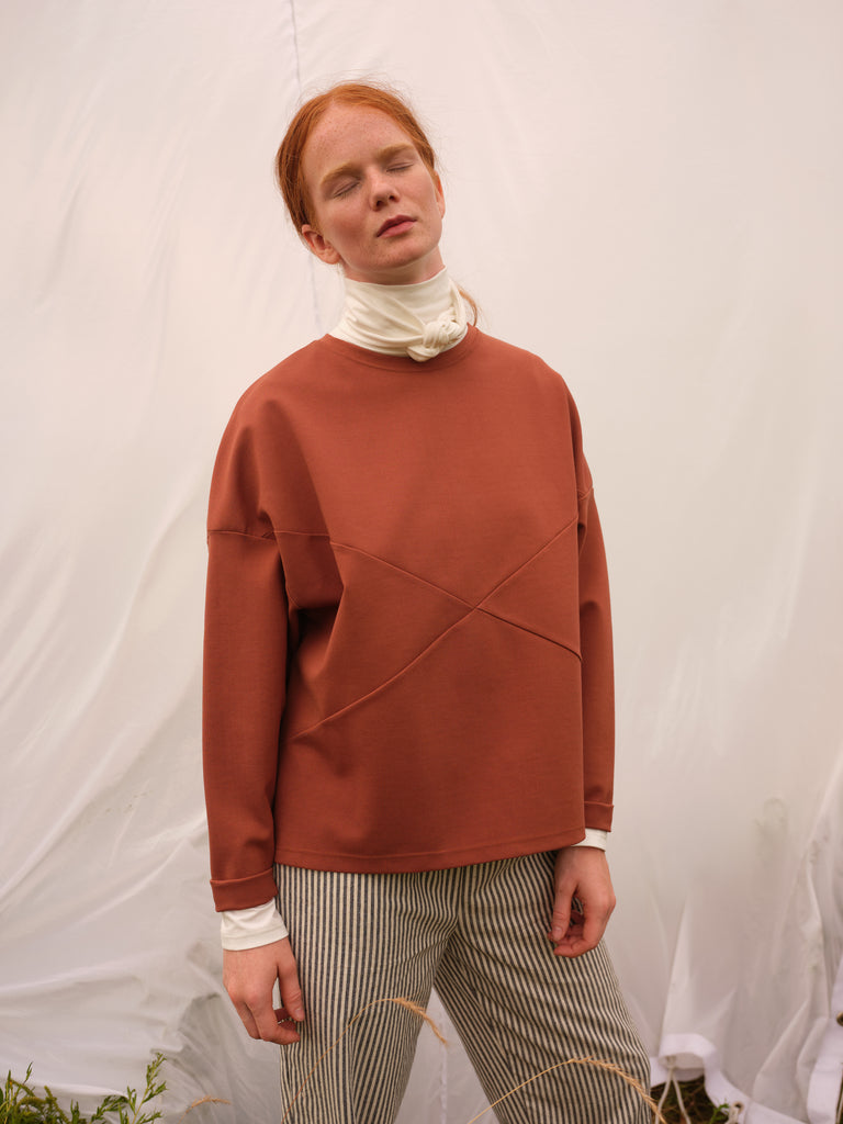 Sweater | MANITOBA | Rust | Odeyalo