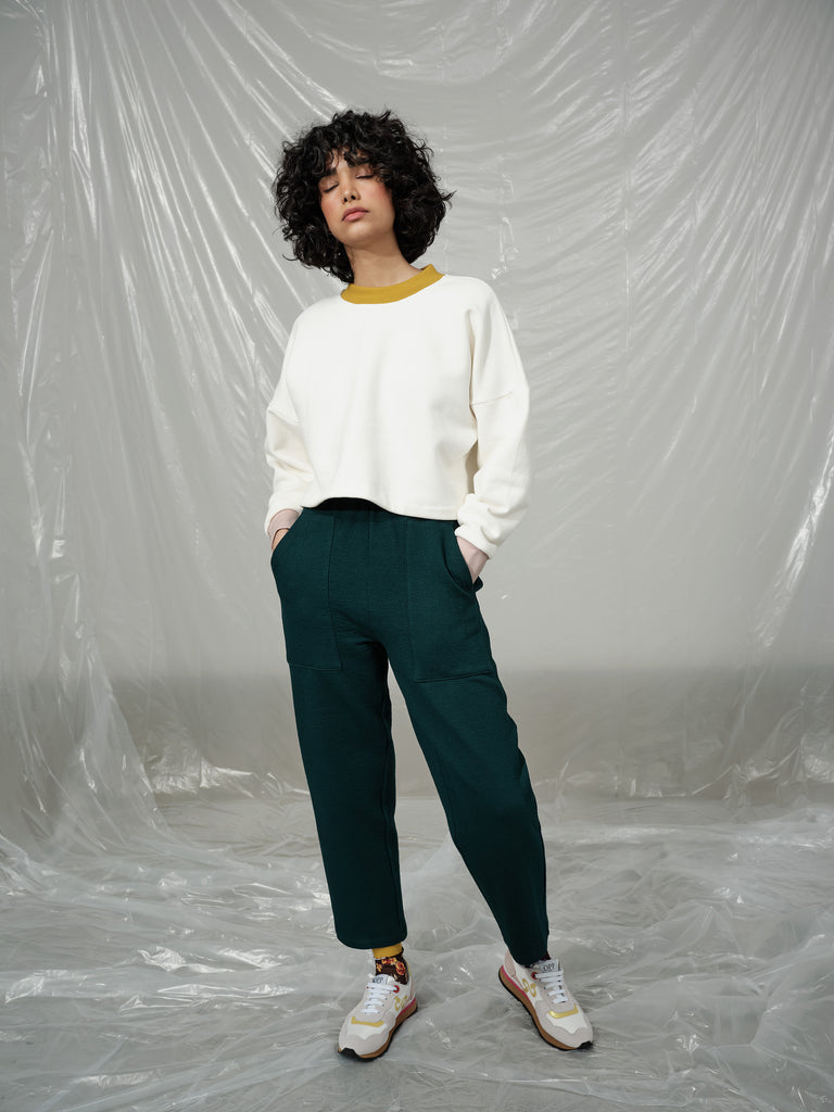 JACOPO emerald pant