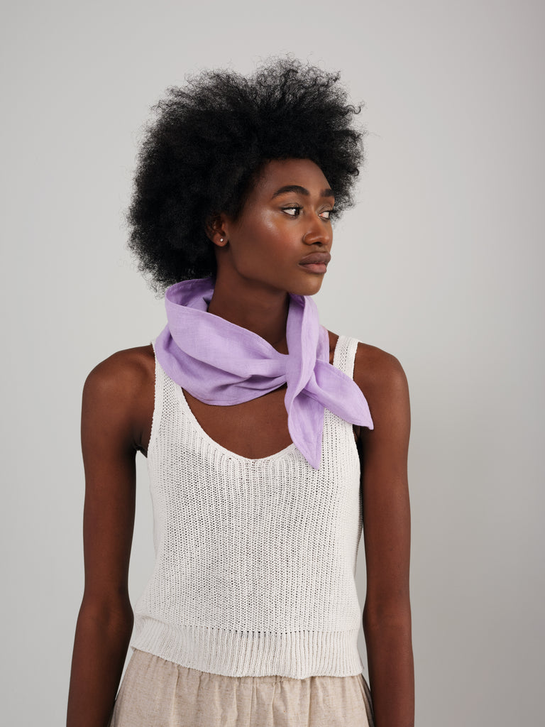 NORA lilac scarf