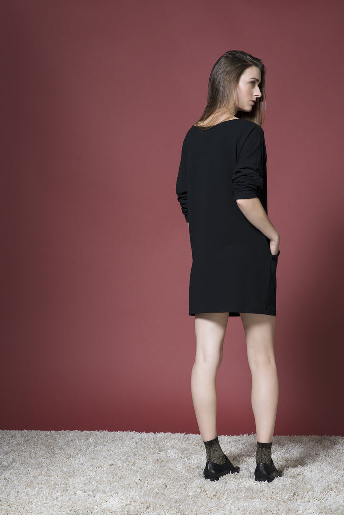 SIMONE long sleeve dress