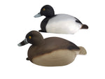 Plasti-Duk Bluebill 6 Pack 24x9 BP-35 Foam Filled Decoys Made in USA