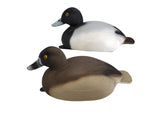 Plasti-Duk Bluebill 6 Pack 17x6.5 BP-25 Foam Filled Decoys Made in USA
