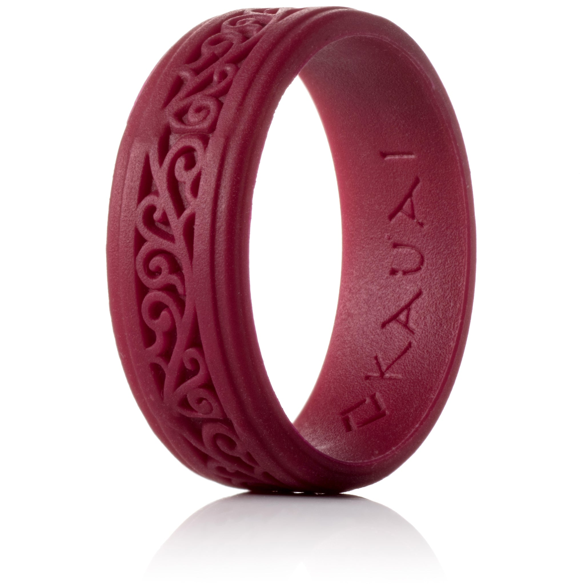 arua men silicone lifestyle collection rings for ring blue
