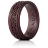Leather Bound, Kauai Elegance Timeless Collection Silicone Ring
