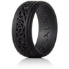 Black Knight, Kauai Elegance Timeless Collection Silicone Ring